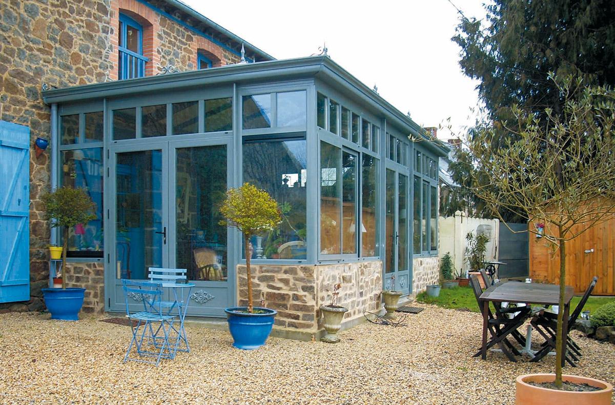 Maison De Campagne Vexin construire une véranda sur-mesure pour agrandir la maison ou